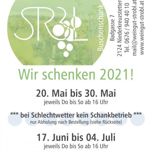 Abholservice Mai 2021!